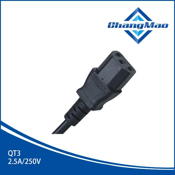 IEC连接器插头-QT3