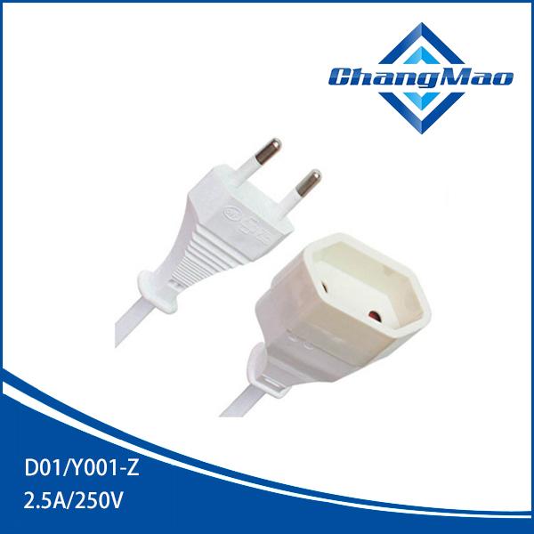 欧洲电源线D01/Y001-Z