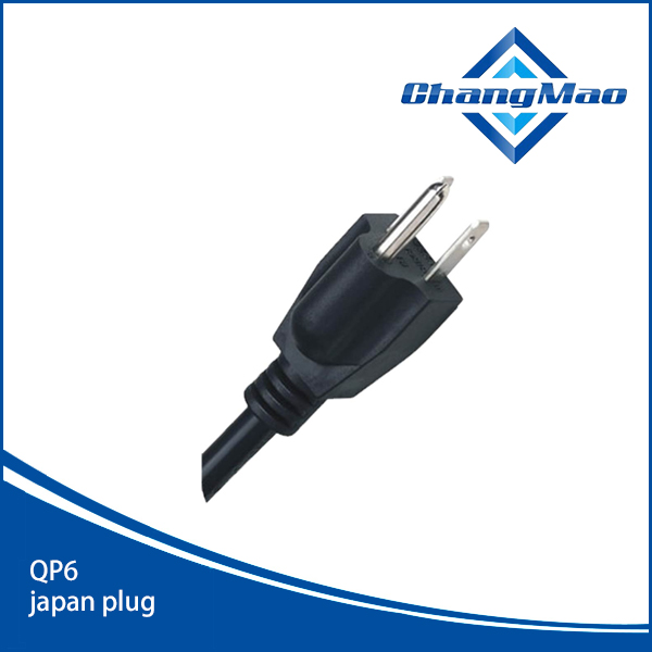 日本PSE电源线插头厂家QP6
