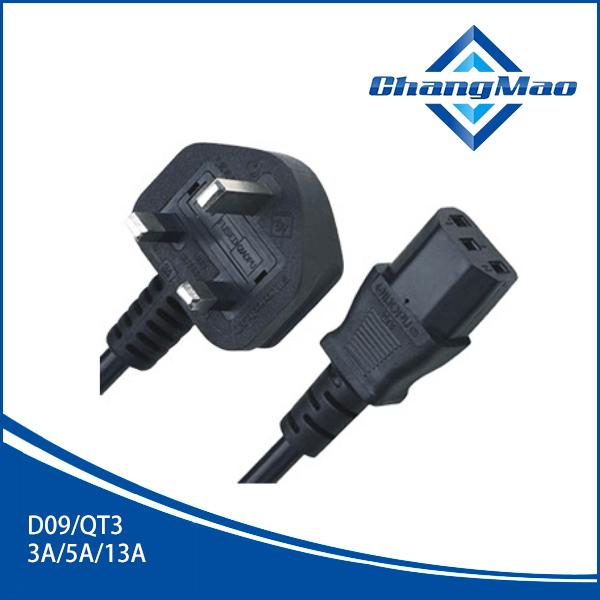 电源线插头厂家D09/QT3