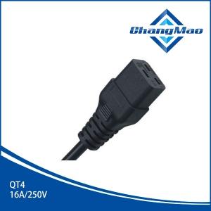 IEC连接器插头-QT4