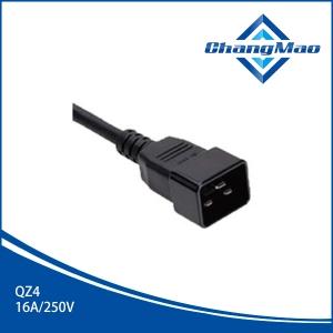 IEC连接器插头-QZ4