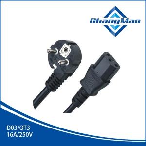 电源线插头厂家D03/QT3
