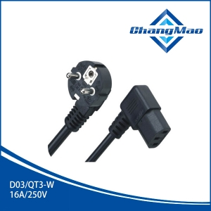 电源线插头厂家D03/QT3-W