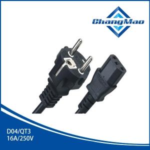 电源线插头厂家D04/QT3