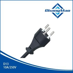 瑞士S+电源线插头厂家D13